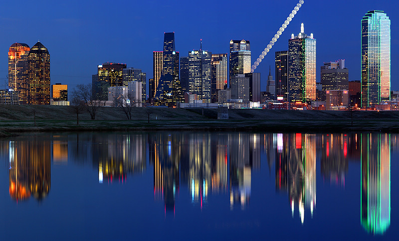 """Dallas Texas - Moon Steps over Dallas <BR><BR>Want to buy a print of this image?  Click <a href=""""http://www.langfordphotography.com/For-Sale/Fine-Art/353198_rD3R59#!i=52036697&k=KBp2L"""">Here</a>!"""