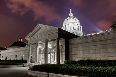 Capitol at Dusk
