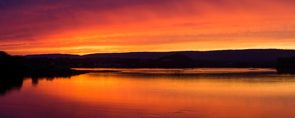 Midtown Sunset on The Susquehanna