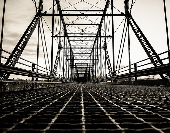 Walnut Street Bridge Symmetry