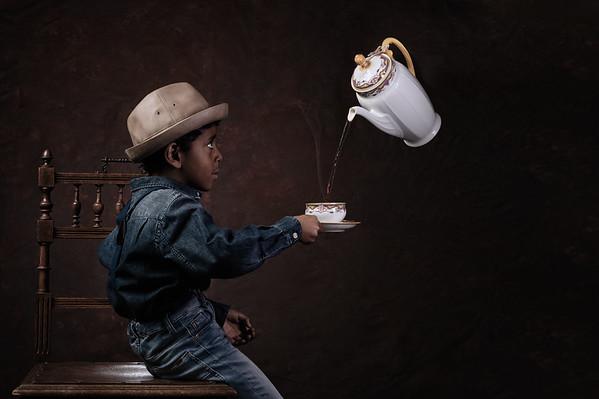 Yonatan on the coffee
