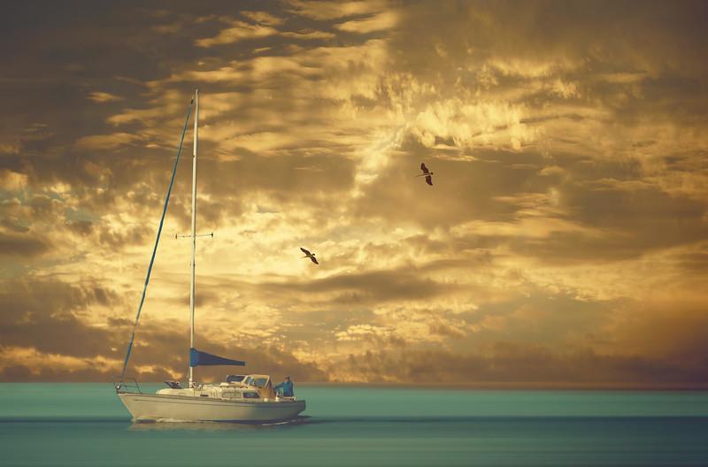 Man at Sea~