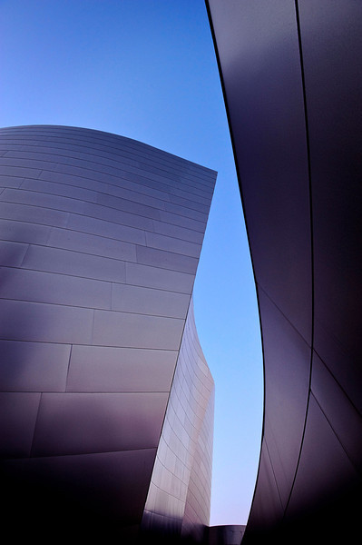 Philharmonic #3<br />  <br /> Shapes & textures play a balance at the amazing Walt Disney Concert Hall in LA