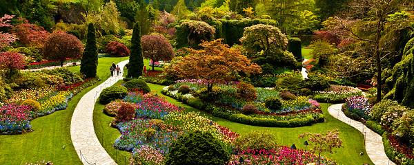 Butchart Gardens, Victoria BC