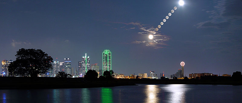 "Dallas Texas - Double Moon over Dallas <BR><BR>Want to buy a print of this image?  Click <a href=""http://www.langfordphotography.com/For-Sale/Fine-Art/353198_rD3R59#!i=52036697&k=KBp2L"">Here</a>!"