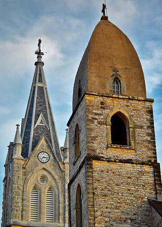 """Fredericksburg Texas - St Mary's Church <BR><BR>Want to buy a print of this image?  Click <a href=""""http://www.langfordphotography.com/For-Sale/Fine-Art/353198_rD3R59#!i=52036697&k=KBp2L"""">Here</a>!"""