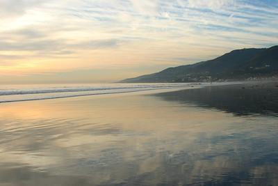 Glassy Sand, Malibu Beach