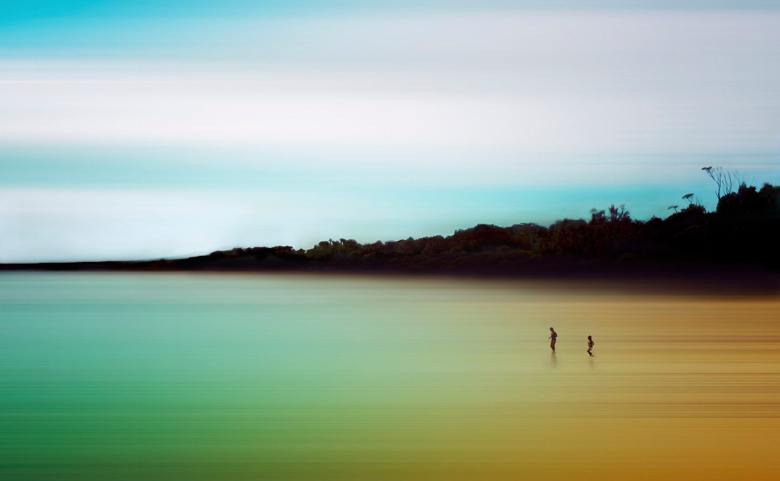 Children At The Shore~