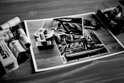 old film photo recursion