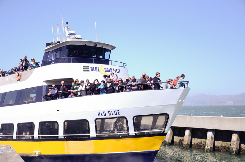 San Francisco Bay tour boat