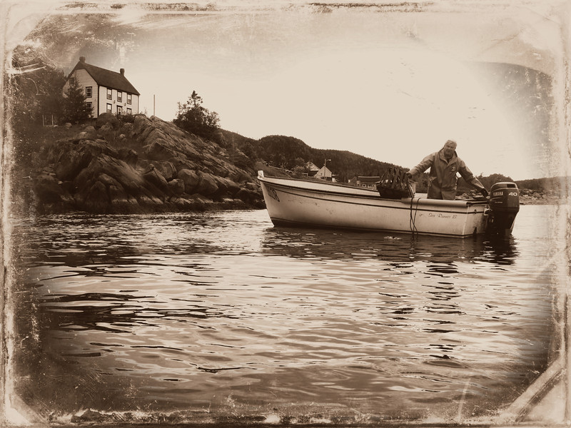 Gary Monks,Kings Cove (sepia)
