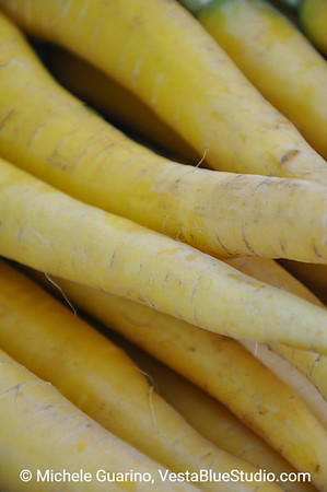 Yellow Carrots Portland Oregon Farmers Market