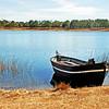 row boat on pond