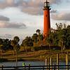 Jupiter Lighthouse, Florida, at sunset
