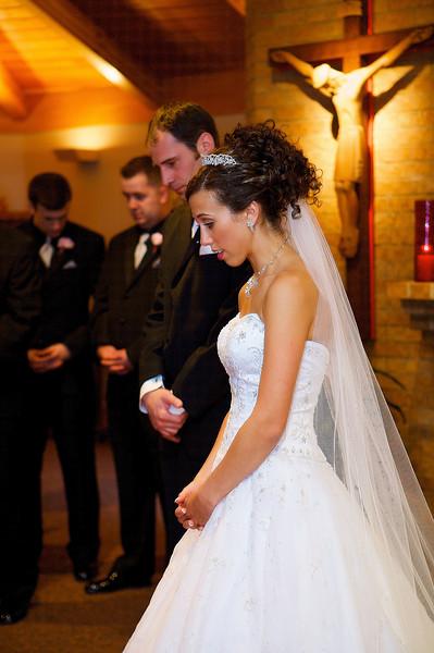 Prayer before the ceremony
