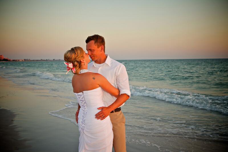 Beach Wedding Photography, Clearwater, St Pete Beach, Florida
