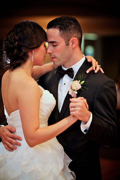 Bride and Groom Romantic Dance