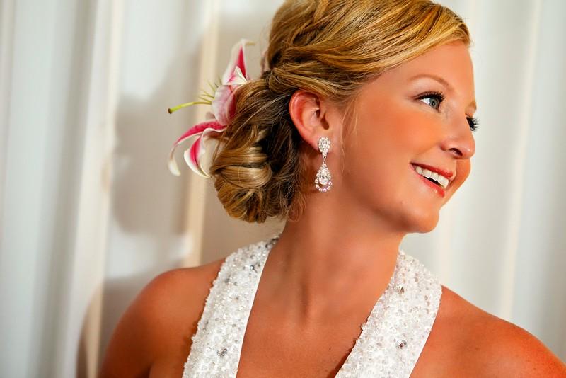 Bridal Beach Portrait