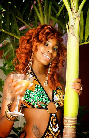 Florida Pool Bikini Swimsuit Photography