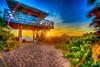 Nokomis Sunset Lifeguard Lookout
