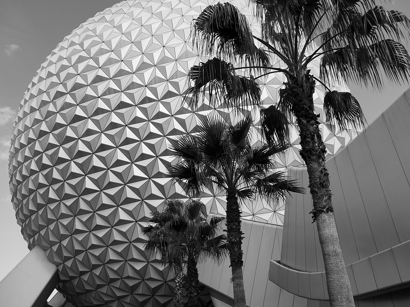 Spaceship Earth, Disney World - Orlando, Florida