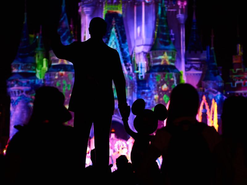 Walt and Mickey, Disney World - Orlando, Florida