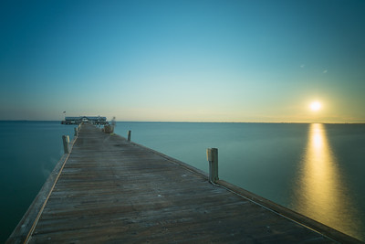 Morning at the Pier on Anna Maria