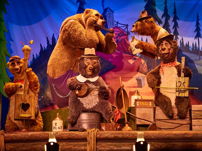 Bear Country Jamboree, Disney World - Orlando, Florida