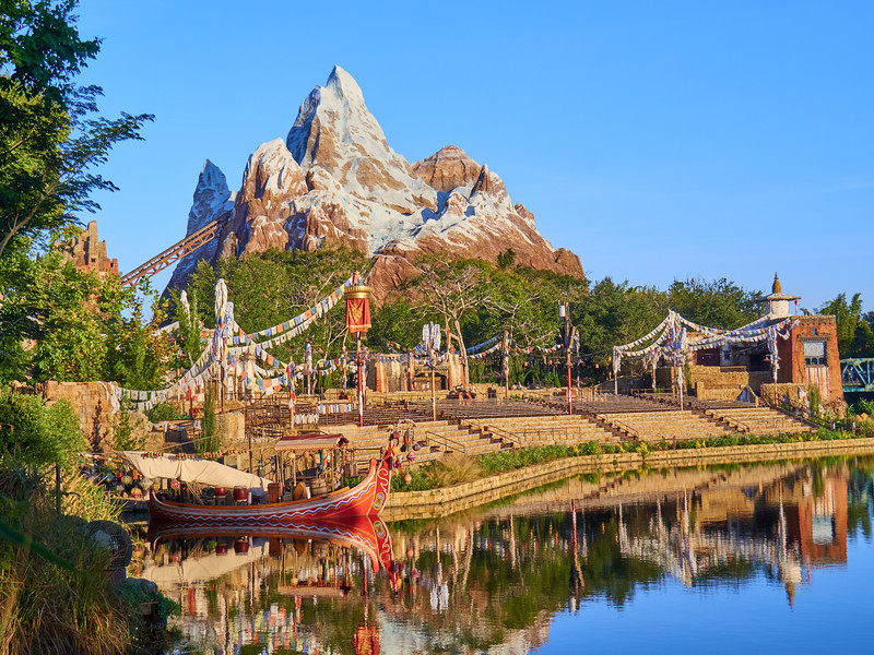 Animal Kingdom Landscape, Disney World - Orlando, Florida