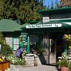 Garden scene at Butchart Gardens in Victoria, British Columbia, Canada.