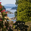 Harbor at Butchart Gardens in Victoria, British Columbia, Canada.