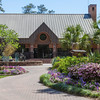 Visitor's Center at Mercer Arboretum and Botanical Gardens in Spring, Texas.