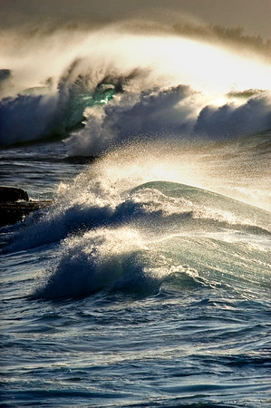 Afternoon Shorebreak