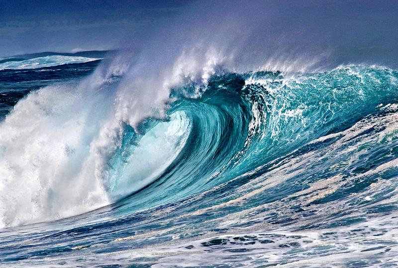 Aquamarine Curl