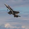CF-18 Demo Jet Battle of Britain take off