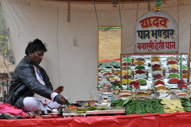 Lots to eat at the Suraj Kund Mela 2008, Haryana, North India. The Suraj Kund Mela is an annual fair held near Delhi. Folk dances, handicrafts and a lot of fun.