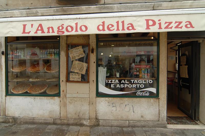 L'Angolo della Pizza, Venice, Italy.