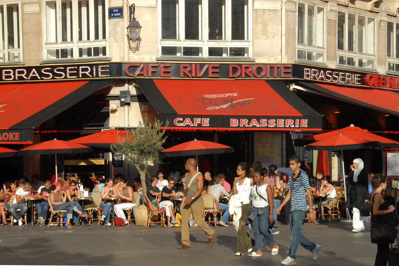 Cafe Brasserie, Europe.