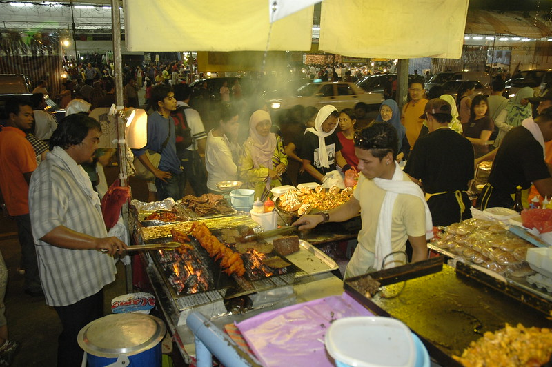 Malay street food in Singapore.
