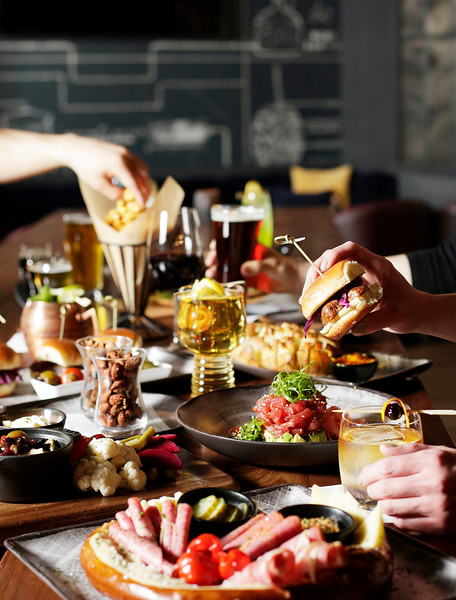 Food is photographed at Northern Quest Resort & Casino's Riverbank Taphouse in Airway Heights, Wash., Tuesday, April 9, 2019. (Young Kwak/The Inlander/Advertising)
