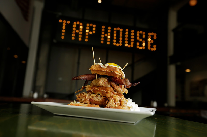 A rockafella y'all is photographed at Crafted Taphouse + Kitchen in Coeur d'Alene, Idaho, Wednesday, Feb. 24, 2021. (Young Kwak/The Inlander)