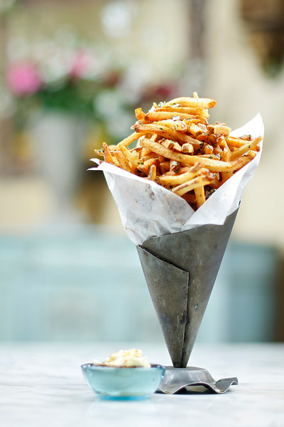An order of Pommes Frites is photpgraphed at Luna, in Spokane, Wash. on Wednesday, May 12, 2010. (Young Kwak Special to the Pacific Northwest Inlander Annual Manual)