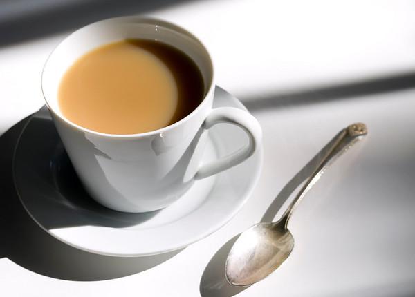 Early Morning Tea Taken in sunlight from a side window