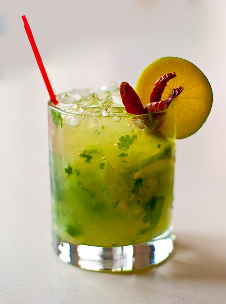 Specialty Mojito called a Jaycito, from Sonny's Restaurant, Portland, Maine