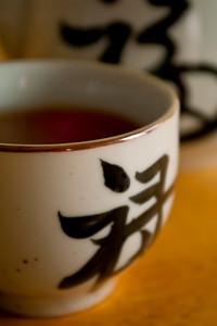 kukicha tea closeup