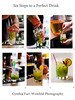 Six Steps to a Perfect Drink<br /> This refreshing collage can print as large as you'd like and is more than suitable for gallery matting and framing.  Taken at Sonny's Restaurant, Portland, Maine, of a specialty Mojito called a Jaycito.