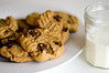 Peanut Butter Cookies & Milk