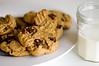 Peanut Butter Cookies & Milk