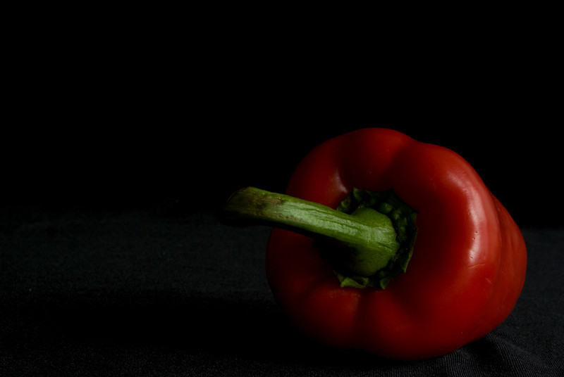 Red pepper. . .  Black Velvet. . .