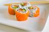 Double Salmon Sushi